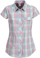 Trespass Womens/Ladies Eriko Short Sleeve Casual Plaid Shirt