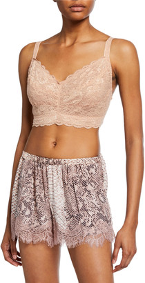 Cosabella Never Say Never Curvy Lace Bralette