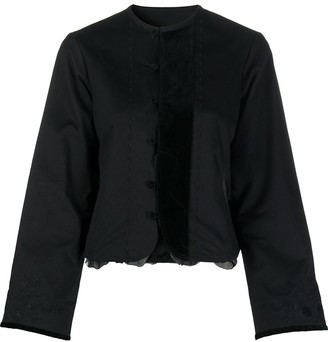 Renli Su Embroidered Cotton Blouse