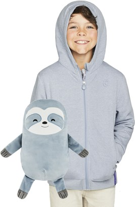 Cubcoats Sloth 2-in-1 Stuffed Animal Hoodie