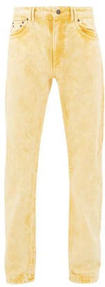 Y/Project Bleached Double-seam Jeans - Yellow