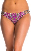 Jessica Simpson Swimwear XCross Hipster Bikini Bottom - 8145294