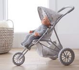 Pottery Barn Kids Mini Jogging Stroller - New Gray/Grey Star