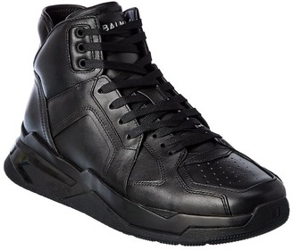 Balmain B Ball Leather Sneaker