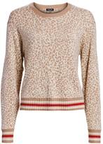 Splendid Knit Leopard Pullover