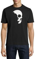 Robert Graham Shadow Skull Graphic T-Shirt, Black