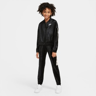 Nike Girls' Sportswear Velour Track Suit