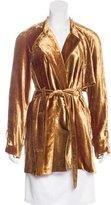 A.L.C. Augusto Tie Velvet Jacket