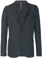 Eleventy exposed seam blazer - men - Acetate/Virgin Wool/Polybutylene Terephthalate (PBT) - 48