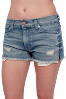 Annie Denim Shorts Torn