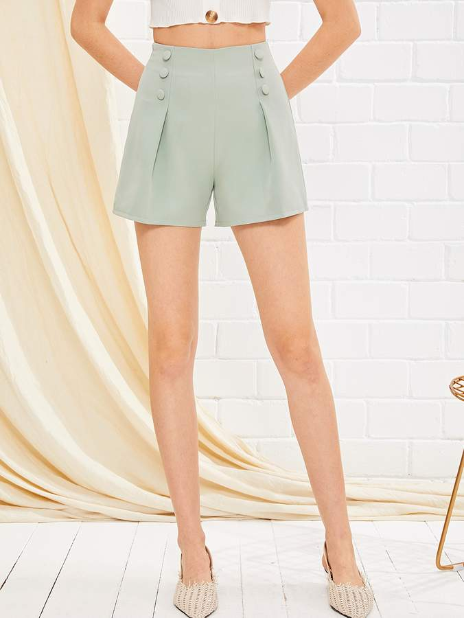 4c3ddd7cf2 Side Button Shorts - ShopStyle