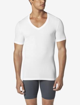Tommy John Air Deep V-Neck Stay-Tucked Undershirt