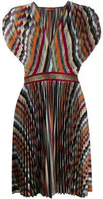 Missoni metallic pleated dress