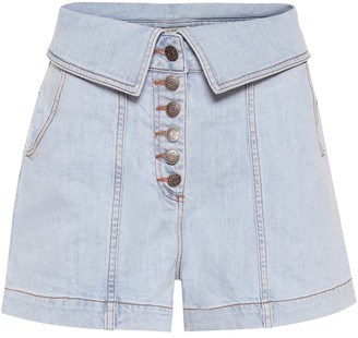 Ulla Johnson Kase denim shorts