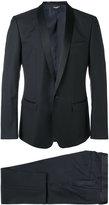 Dolce & Gabbana three-piece dinner suit - men - Silk/Virgin Wool/Polyester/Cupro - 46