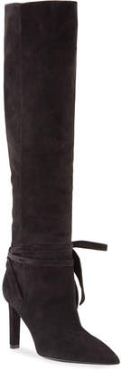 Saint Laurent Kate Over-the-Knee Tall Suede Boots