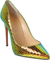 check out ca771 e659c Christian Louboutin Pigalle Follies 100 Specchio Leather Pump on sale for  $817.04 from original price of $981.78 at Gilt