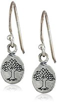 "Satya Jewelry Classics"" Nurturing Earth Drop Pendant Earrings"