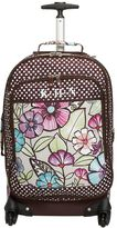 Jet Set Jet-Set Multi Floral Carry On Suitcase