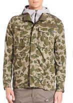 G Star Rovic Liner Camo-Print Jacket