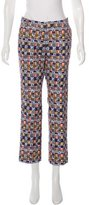 Peter Jensen Checkered Cropped Pants w/ Tags