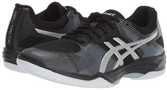 Asics GEL-Tactic(r) (Black/Silver) Women's Volleyball Shoes