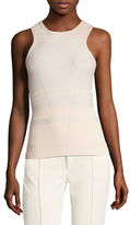 Narciso Rodriguez Cashmere Embroidered Shell
