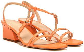 Franco Sarto Strappy Leather Heeled Sandals - Chania