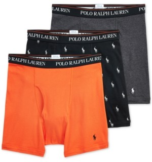 Polo Ralph Lauren Men's 3-Pack Boxer Briefs