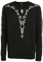Marcelo Burlon County of Milan Embroidered Jumper