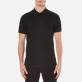 Versace Collection Pique Polo Shirt Nero