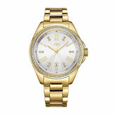 JBW Women's Capri 0.12 ctw Diamond 18k gold-plated stainless-steel Watch J6340B