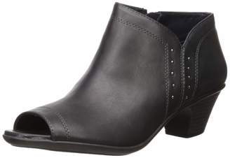Easy Street Shoes Women's Voyage Open Toe Bootie with Mini Studs Ankle Boot
