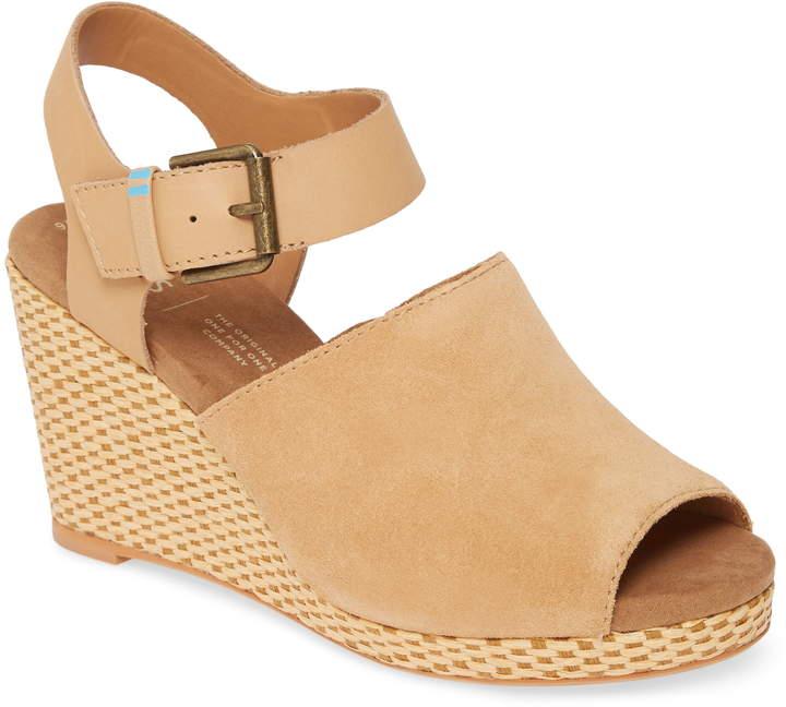 c96f97a6aaa Tropez Wedge Slingback Sandal