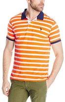 U.S. Polo Assn. Men's Slim Fit Slub Polo Shirt