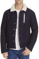 Soulland Horgh Wool Sherpa Coach Jacket