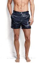 """Classic Men's 5"""" Monterey Board Shorts-Siam Blue Oxford"""