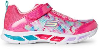 Skechers Kids Girls) Litebeams Light-Up Running Sneakers