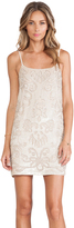 Needle & Thread Gloss Lace Mini Dress