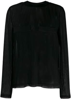 032c mesh T-shirt