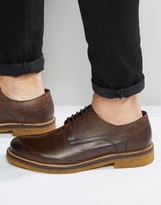 Base London Lincoln Leather Derby Shoes