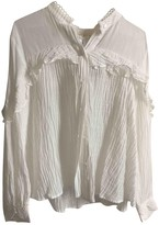Stevie May White Cotton Top for Women
