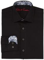 Robert Graham Boys' Joy Neat Texture Dress Shirt