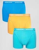 Bjorn Borg 3 Pack Trunks Color Multi