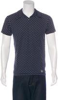 Versace Short Sleeve Polo Shirt