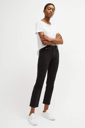 French Connection Jilly Denim High Rise Straight Jeans