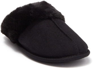 Kensie Faux Fur Lined Slipper