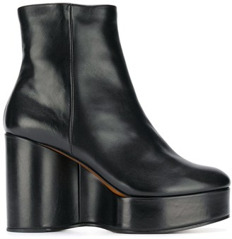 Clergerie Belen wedge boots