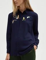 Duck Hunt Shirt in Navy