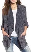 BB Dakota Kris Drape Front Knit Jacket